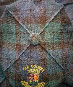 a87dee67bc6 The St Andrews Golf Flat Cap Black Watch Tartan Wool (1)